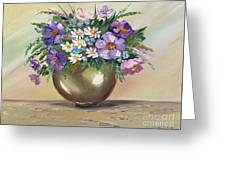 Flowers,still Life Greeting Card