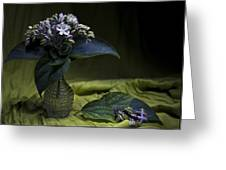 Flowers Bouquet Greeting Card