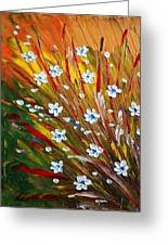 Flowers Field Greeting Card