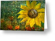 Flowers For Fun Greeting Card