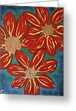 Flowers For M Greeting Card
