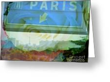 Flowers For Paris Greeting Card
