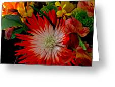 Flowers From Dad Greeting Card