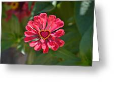 Flower's Heart Greeting Card