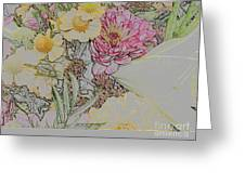 Flowers In A Bunch Greeting Card