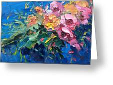 Flowers In The Water Greeting Card
