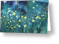 Flowers N Breeze Greeting Card