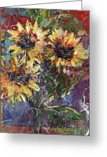 Flowers Of The Gods Greeting Card