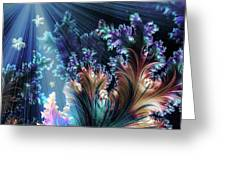 Flowers Of The Sea Greeting Card