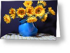 Flowers Of The Sun Greeting Card