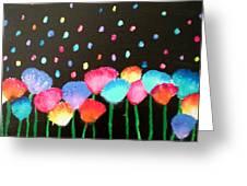 Flowers Of Urania Greeting Card