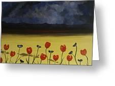 Flowers On Arran Greeting Card
