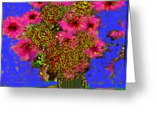 Flowers On The Table Greeting Card