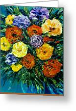 Flowers Painting #191 Greeting Card