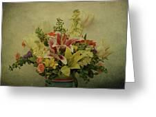 Flowers Greeting Card by Sandy Keeton