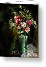Flowers Still Life Greeting Card