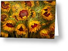 Flowers - Sunflowers - You're My Only Sunshine Greeting Card