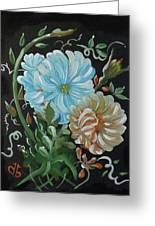 Flowers Surreal Greeting Card