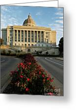 Flowers To The Capital Greeting Card