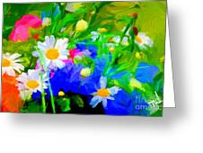 Flowers Two Greeting Card