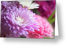 Flowers With Love Greeting Card