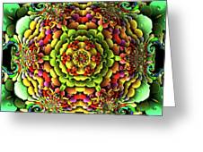 Flowerscales 61 Greeting Card