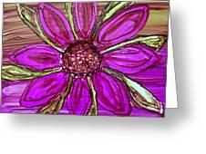 Flowerscape Dahlia Greeting Card