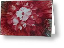 Flowerscape Just Beginning Greeting Card