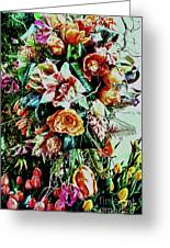 Flowing Bouquet Greeting Card
