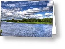 Flowing Down The River Greeting Card