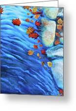 Flowing Fall Greeting Card