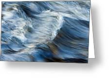 Flowing River Water Greeting Card