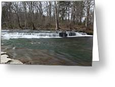 Flowing Stream Greeting Card