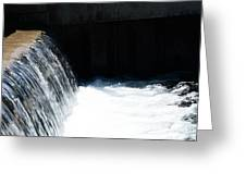 Flowing Water Of Life Greeting Card