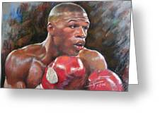 Floyd Mayweather Jr Greeting Card