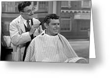 Floyds Barbar Shop Andy Griffith Show Greeting Card