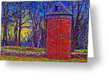 Floyd,virginia Tower Greeting Card