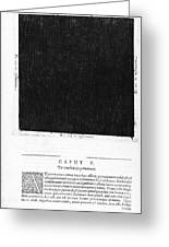Fludds Dark Universe, 1617 Greeting Card