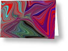 Fluid Motion 5 Greeting Card