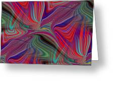 Fluid Motion 6 Greeting Card