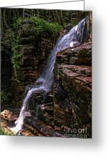 Flume Gorge Waterfall Greeting Card