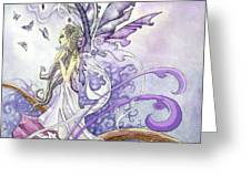Fluorite Faery Greeting Card