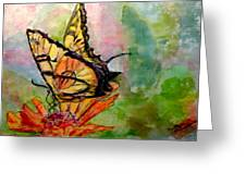 Flutterby - Watercolor Greeting Card