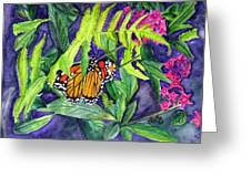 Fluttering By  Greeting Card