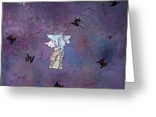Fluttering Thoughts Greeting Card