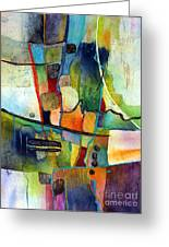 Fluvial  Mosaic Greeting Card