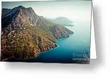 Fly Above Laguna Seascape Artmif.lv Greeting Card