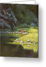 Fly Fishing Greeting Card