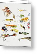 Fly Fishing I Greeting Card