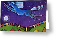 Fly Free From Normal Greeting Card